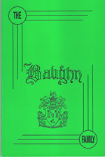 Baughn Family book